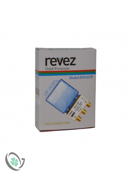 2x1 Gold Premium DiseqC Switch (Revez)