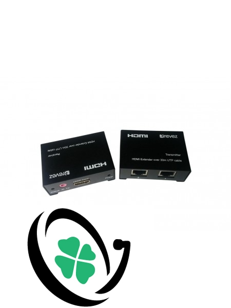 HDMI Extender Over Dual CAT5/6 with IR Control (30m)