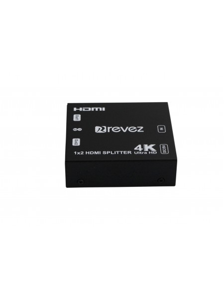 Revez 2 Way HDMI Splitter (4K Supported)