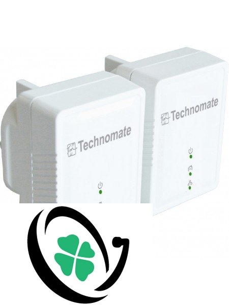 Technomate 600mbps Homeplug Set