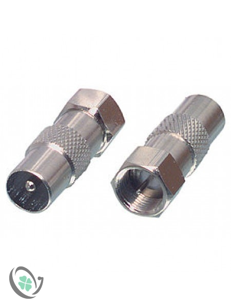Coaxial Male to F Male Adapter (1)