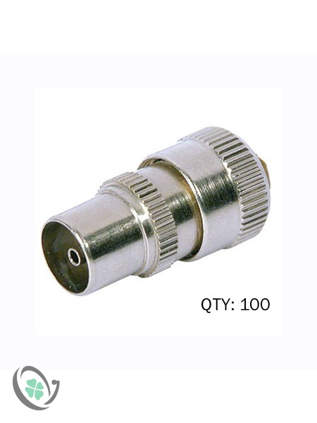 Quality Coaxial Connector (100)