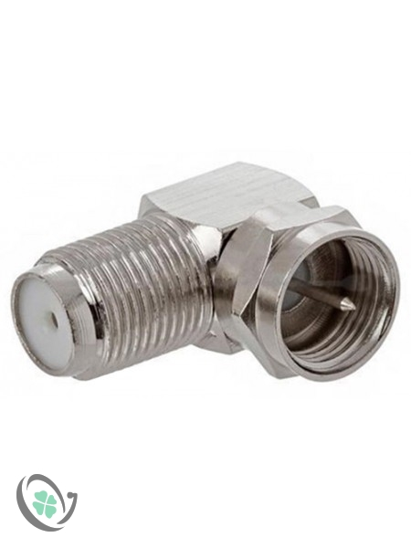 90 Degree F-Connector (100)