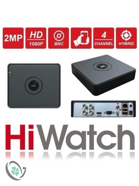 HiWatch by Hikvision DVR-108G-F1 8 Channel 2MP 1080P Turbo
